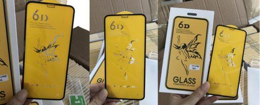 Cường lực full 6D thiên thần loại sịn dán đẹp các mã samsung, oppo, iphone