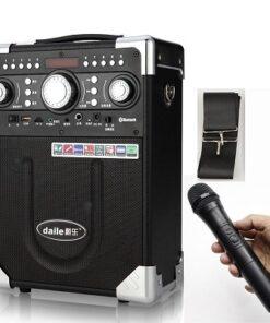 loa-karaoke-xach-tay-daile-s8-bluetooth-usb-the-nho-tang-kem-mic-ko-day-–-chinh-hang